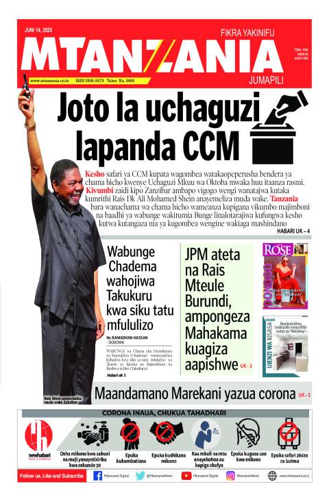 Joto la uchaguzi lapanda CCM | Mtanzania