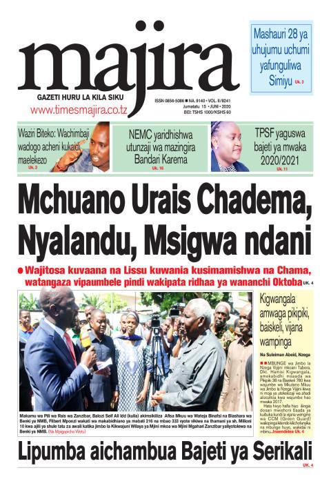 Mchuano Urais CHADEMA, Nyalandu, Msigwa ndani   MAJIRA