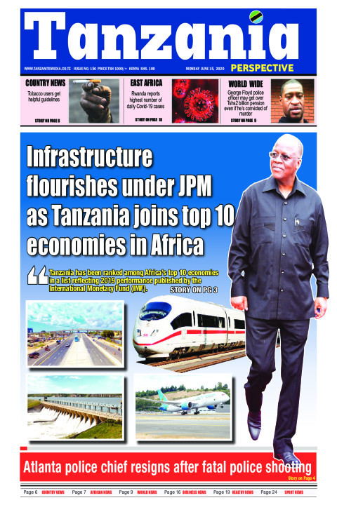 Infrastructure flourishes under JPM as Tanzania joins top 10 | Tanzania Perspective