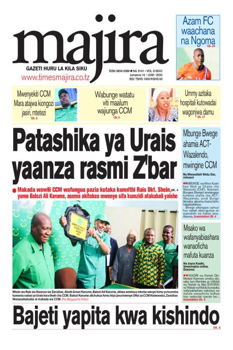 Patashika ya Urais yaanza rasmi Zanzibar   MAJIRA