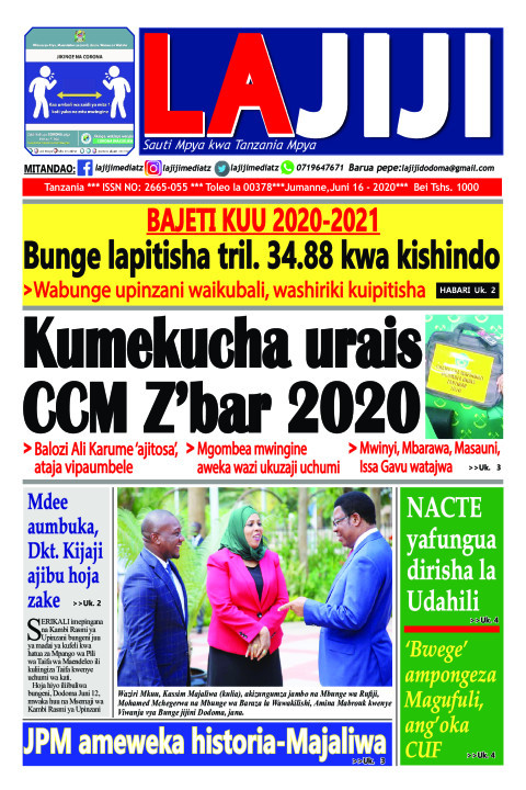 Kumekucha urais  CCM Z'bar 2020  | LaJiji