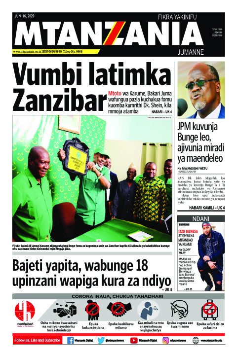 Vumbi latimka Zanzibar | Mtanzania