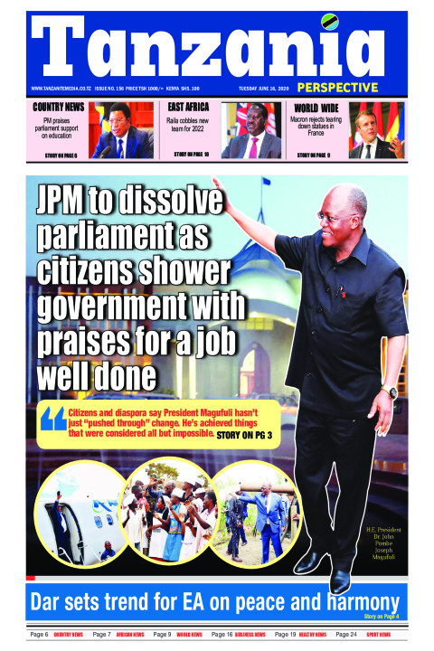 JPM to dissolve parliament as citizens shower government wit | Tanzania Perspective