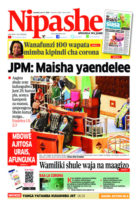 JPM: Maisha yaendelee | Nipashe