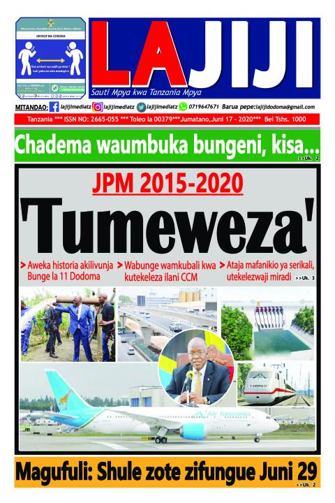 'Tumeweza' | LaJiji