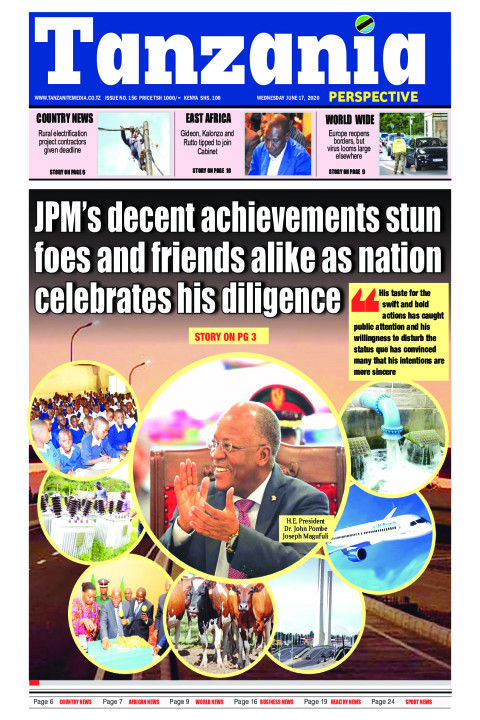 JPM's decent achievements stun foes and friends alike as nat | Tanzania Perspective