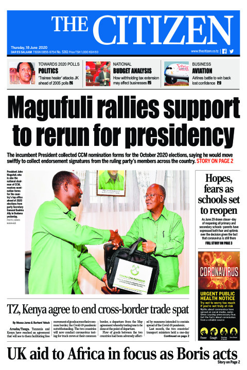 Magufuli rallies support to rerun for presidency | The Citizen