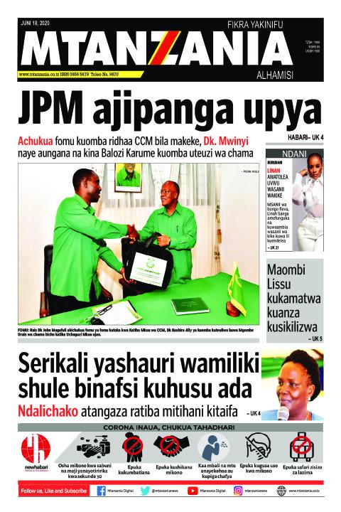 JPM ajipanga upya | Mtanzania