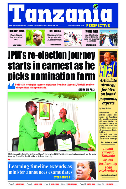 JPM's re-election journey starts in earnest as he picks nomi | Tanzania Perspective