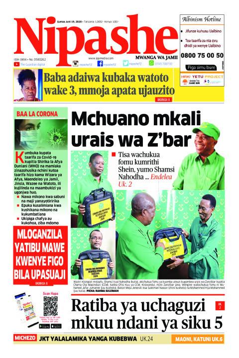 Mchuano mkali urais wa Z'bar | Nipashe