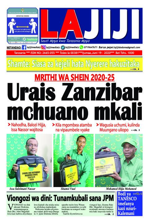 Urais Zanzibar mchuano mkali | LaJiji