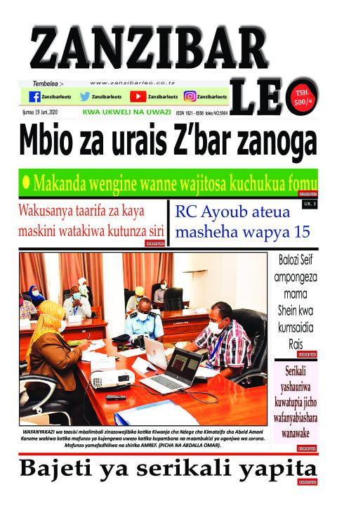 Mbio za Urais Zanzibar zanoga | ZANZIBAR LEO