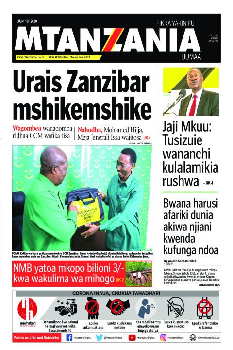 Urais Zanzibar mshikemshike | Mtanzania