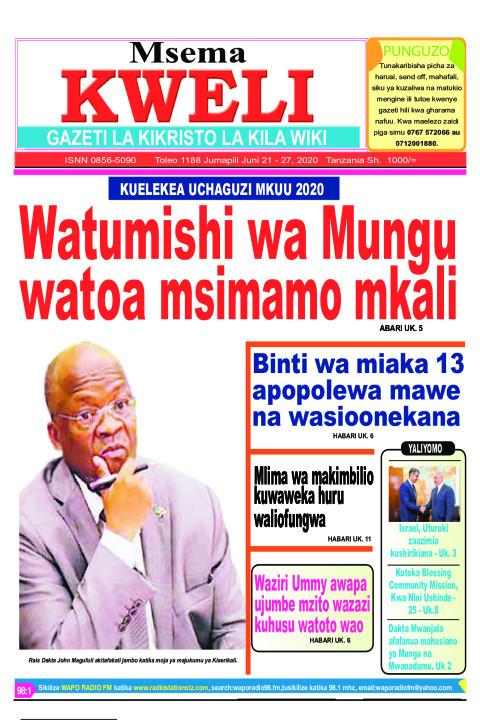 Watumishi wa Mungu watoa msimamo mkali | MSEMA KWELI