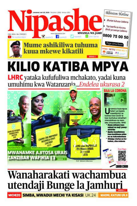 Kilio Katiba Mpya | Nipashe