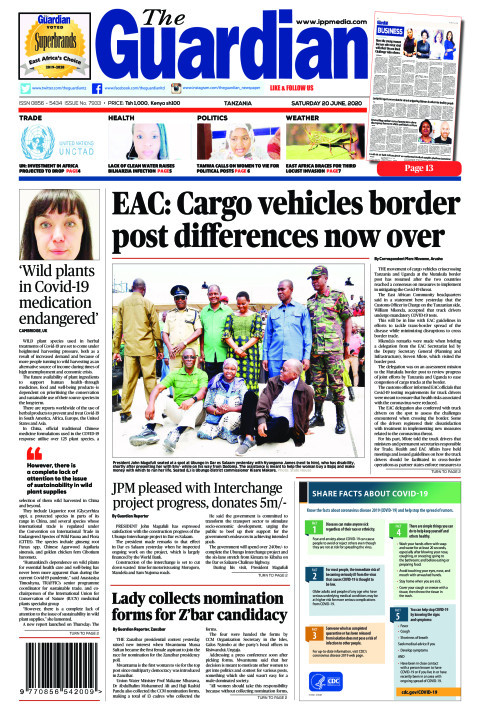 EAC: Cargo vehicles border post differences now over