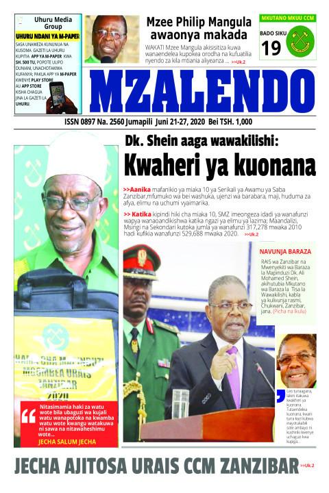 Kwaheri ya kuonana | Mzalendo
