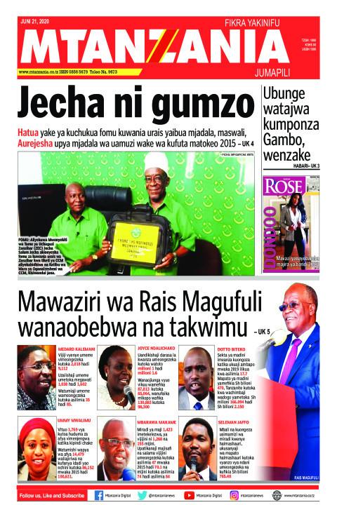 Jecha ni gumzo | Mtanzania