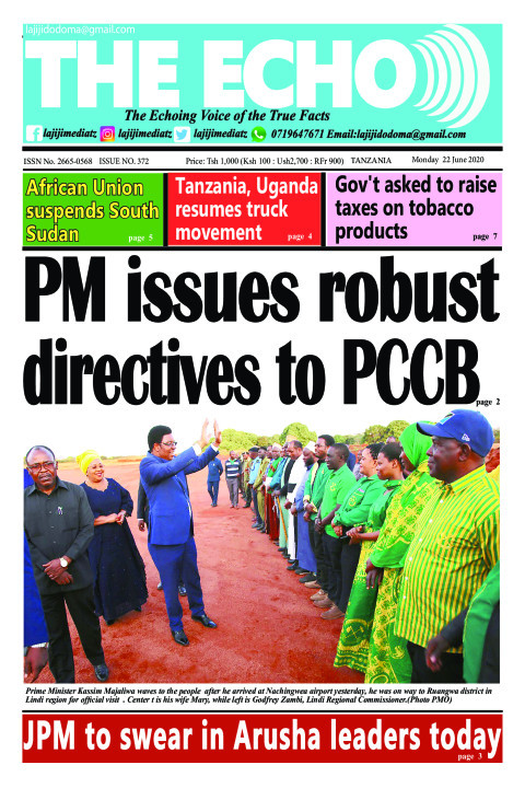 PM issues robust