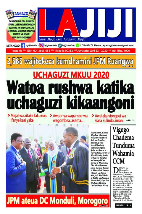 Watoa rushwa katika uchaguzi kikaangoni  | LaJiji
