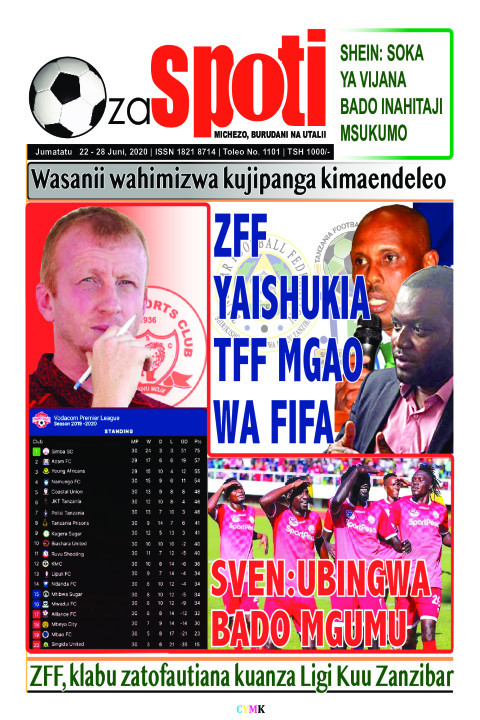 ZFF YAISHUKIA TFF MGAO WA FIFA | ZA SPOTI