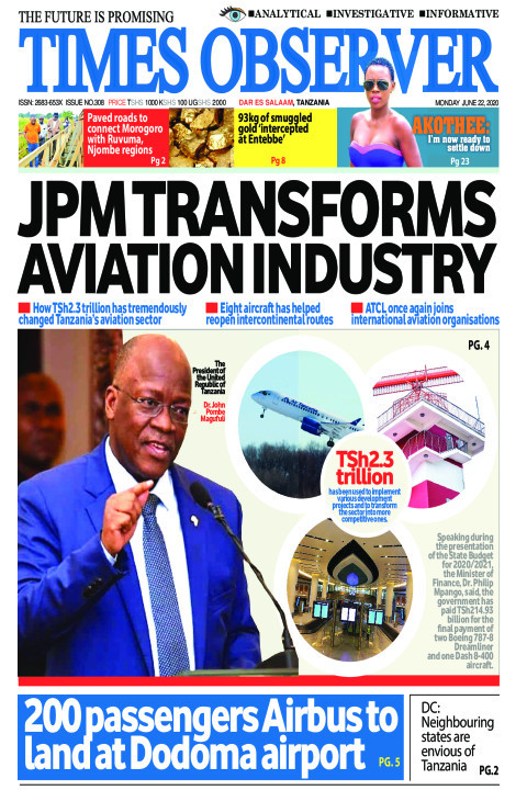 JPM TRANSFORMS AVIATION INDUSTRY  | Times Observer