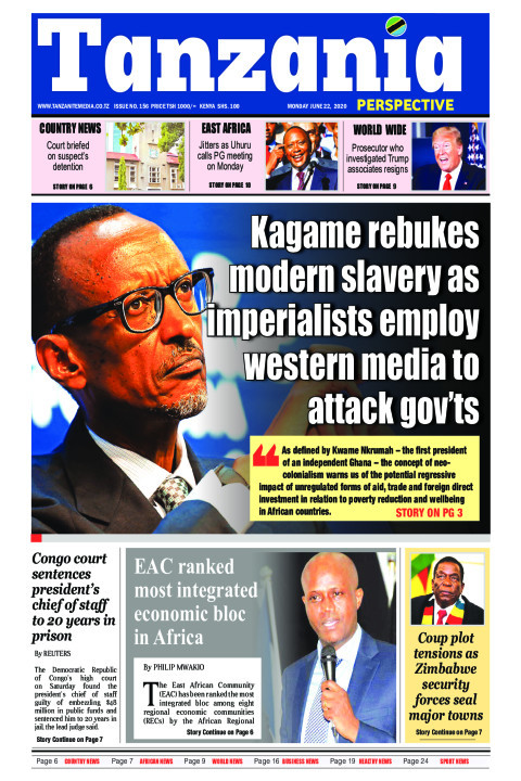 Kagame rebukes modern slavery as imperialists employ western | Tanzania Perspective