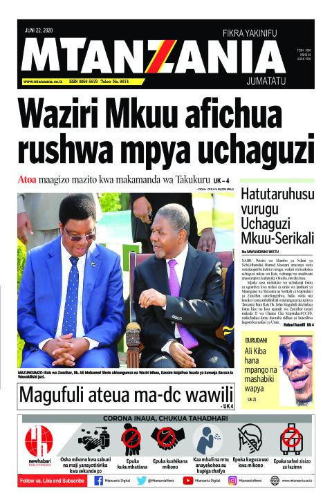 Waziri Mkuu afichua rushwa mpya uchaguzi | Mtanzania