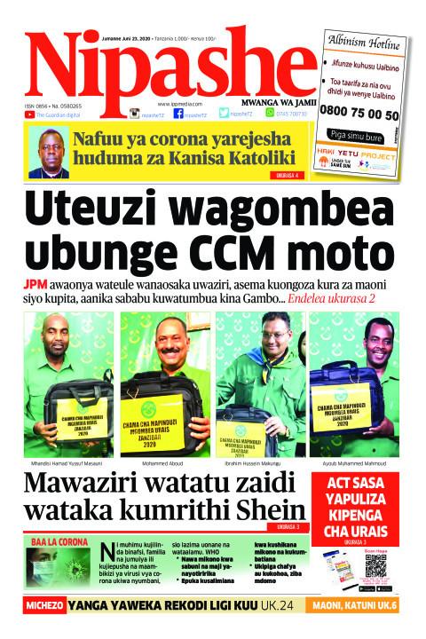 Uteuzi wagombea ubunge CCM moto | Nipashe