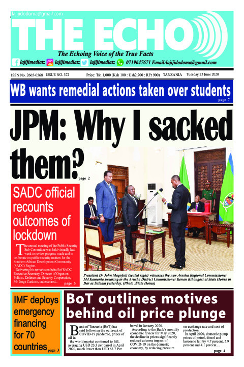 JPM: Why I sacked