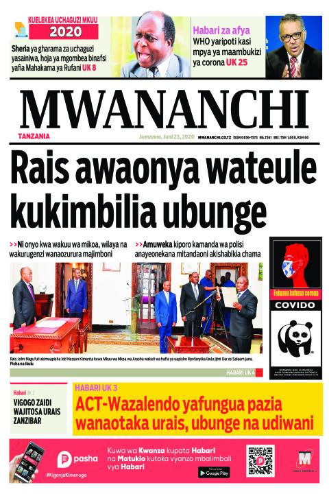 Rais awaonya wateule kukimbilia ubunge | Mwananchi