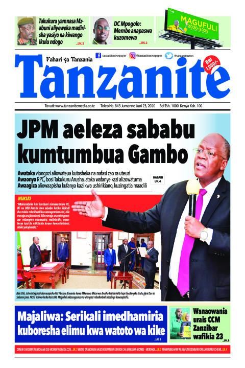 JPM aeleza sababu kumtumbua Gambo | Tanzanite
