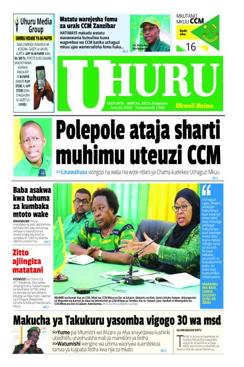 POLEPOLE ATAJA SHARTI MUHIMU UTEUZI CCM | Uhuru