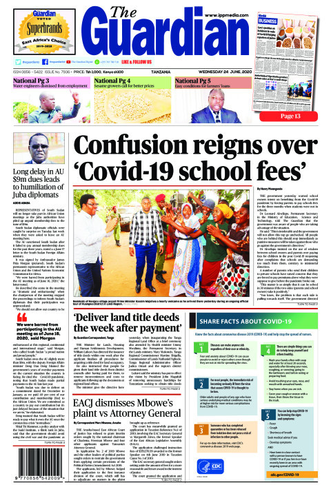 Confusion reigns over 'Covid-19 school fees' | The Guardian