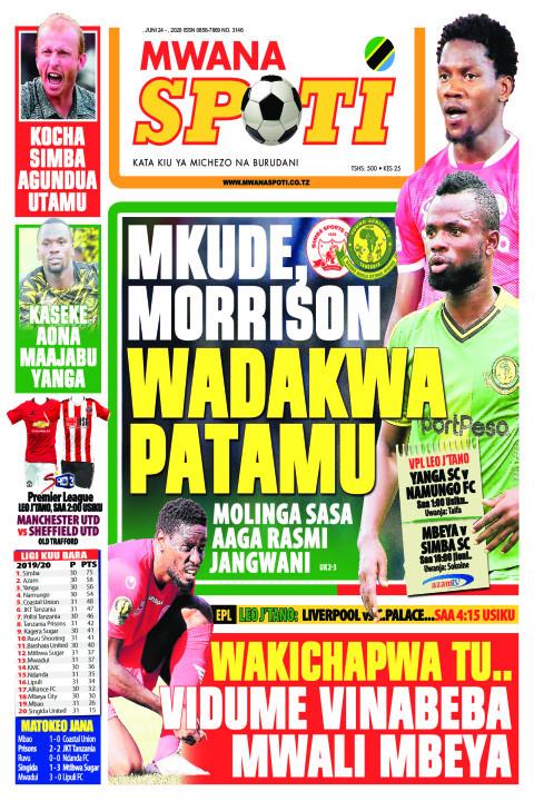 MKUDE MORRISON WADAKWA PATAMU | Mwanaspoti