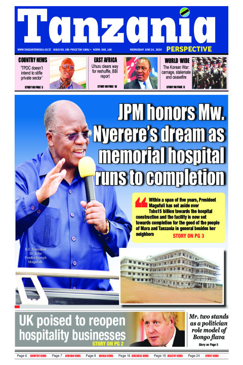 JPM honors Mw. Nyerere's dream as memorial hospital runs to  | Tanzania Perspective