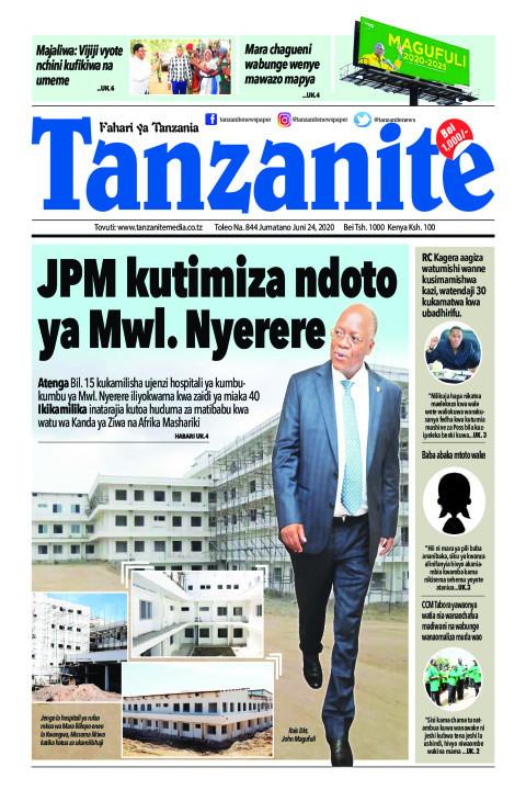 JPM kutimiza ndotoya Mwl. Nyerere | Tanzanite