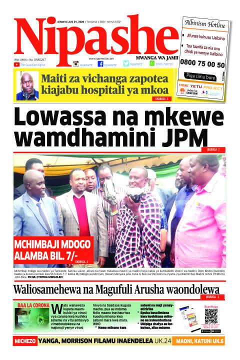 Lowassa na mkewe wamdhamini JPM | Nipashe