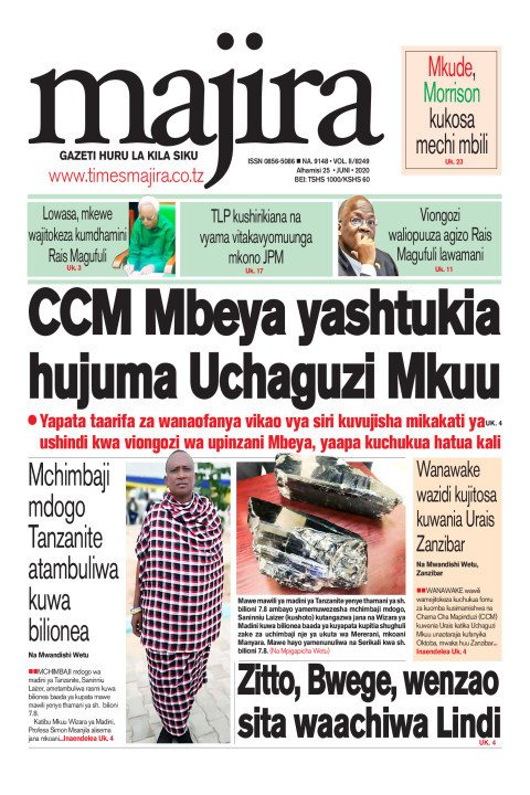 CCM Mbeya yashtukia hujuma Uchaguzi Mkuu | MAJIRA