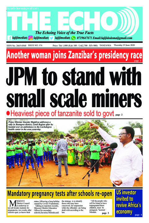 JPM to stand with