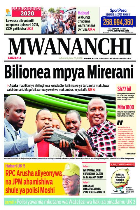 Bilionea mpya Mirerani | Mwananchi