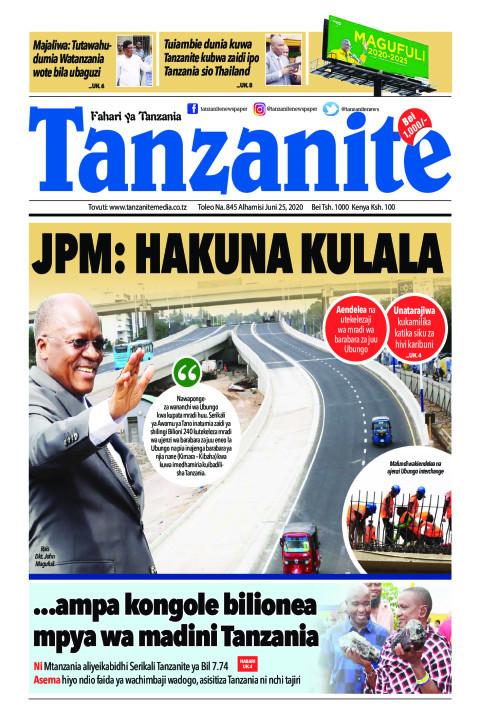 JPM: HAKUNA KULALA  | Tanzanite