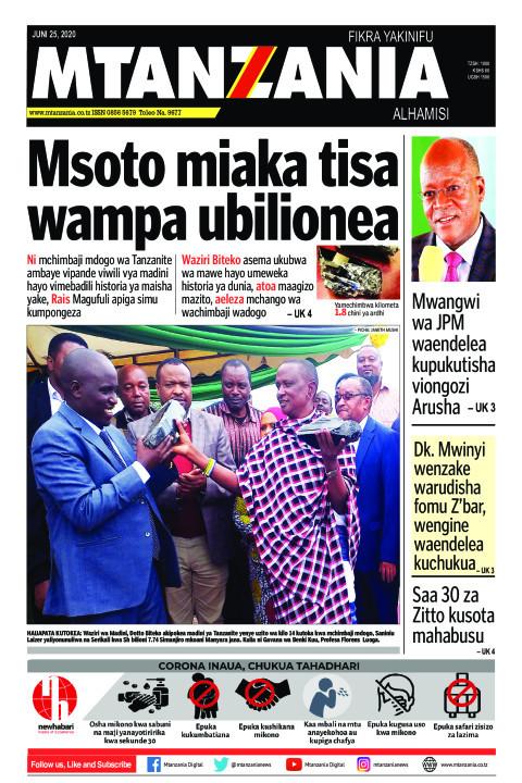 Msoto miaka tisa wampa ubilionea  | Mtanzania
