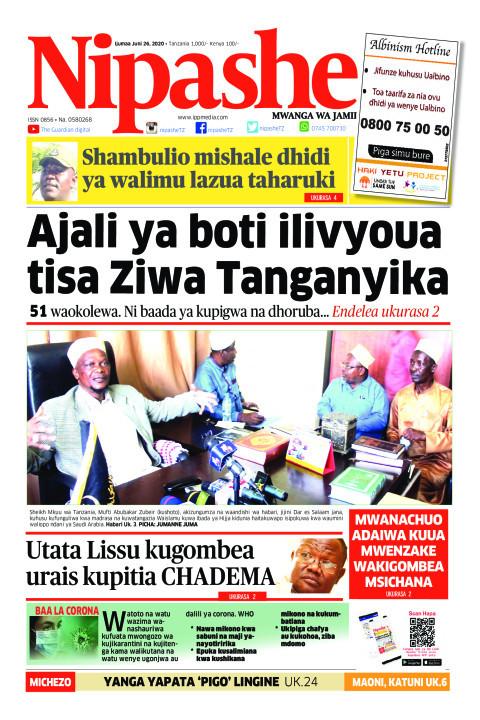 Ajali ya boti ilivyoua tisa Ziwa Tanganyika | Nipashe