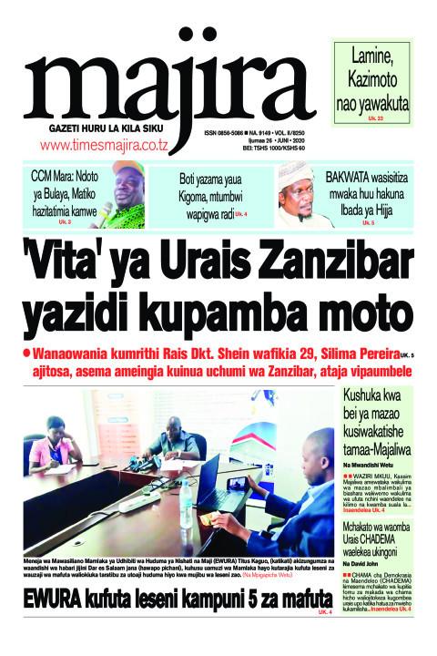 'Vita' ya Urais Zanzibar yazidi kupamba moto | MAJIRA