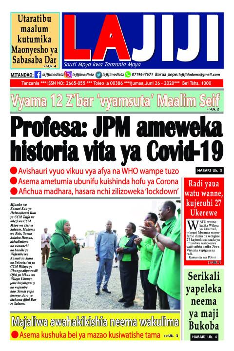 Profesa: JPM ameweka historia vita ya Covid-19  | LaJiji