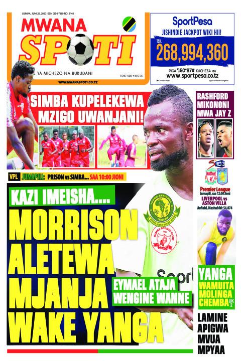 MORRISON ALETEWA MJANJA WAKE YANGA | Mwanaspoti