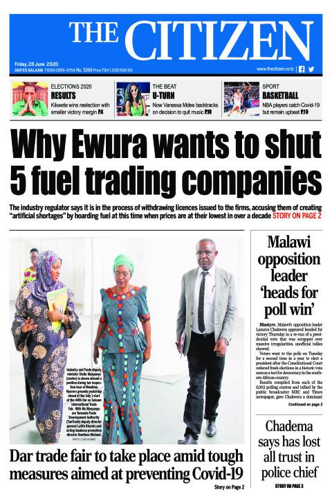 Why Ewura wants to shut 5 fuel trading companies | The Citizen
