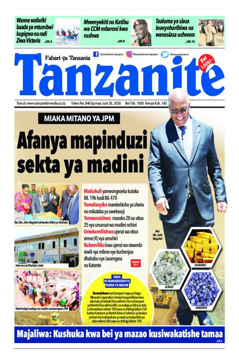 Afanya mapinduzi sekta ya madini | Tanzanite