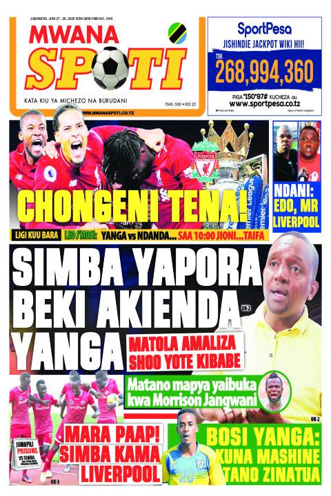 SIMBA YAPORA BEKI AKIENDA YANGA | Mwanaspoti